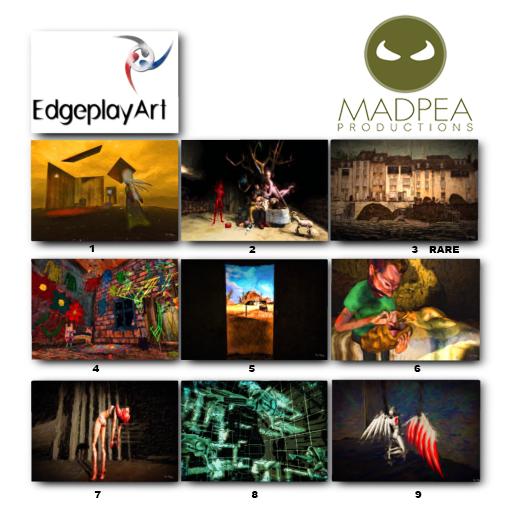 MadPea Edgeplay Art GachaFlogo