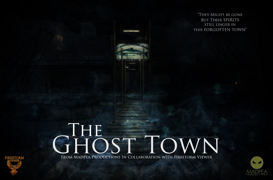 The ghost town poster high res